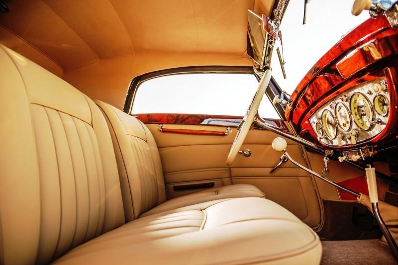 1937 Mercedes-Benz 540K Sport Cabriolet A by Sindelfingen 12