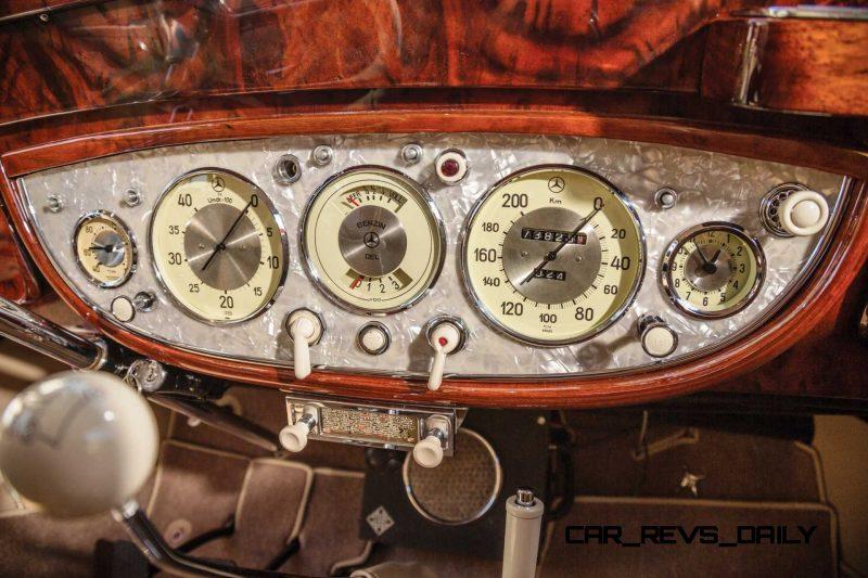 1937 Mercedes-Benz 540K Sport Cabriolet A by Sindelfingen 15