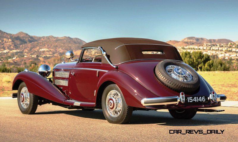 1937 Mercedes-Benz 540K Sport Cabriolet A by Sindelfingen 2
