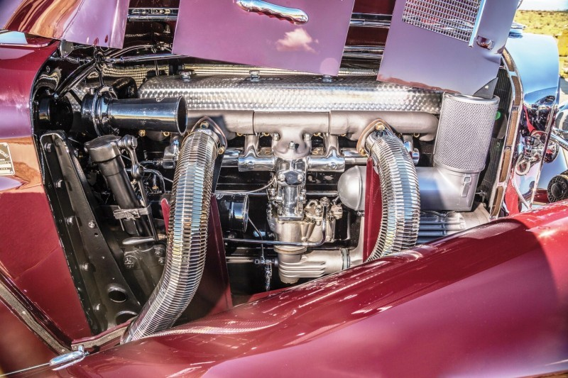 1937 Mercedes-Benz 540K Sport Cabriolet A by Sindelfingen 3