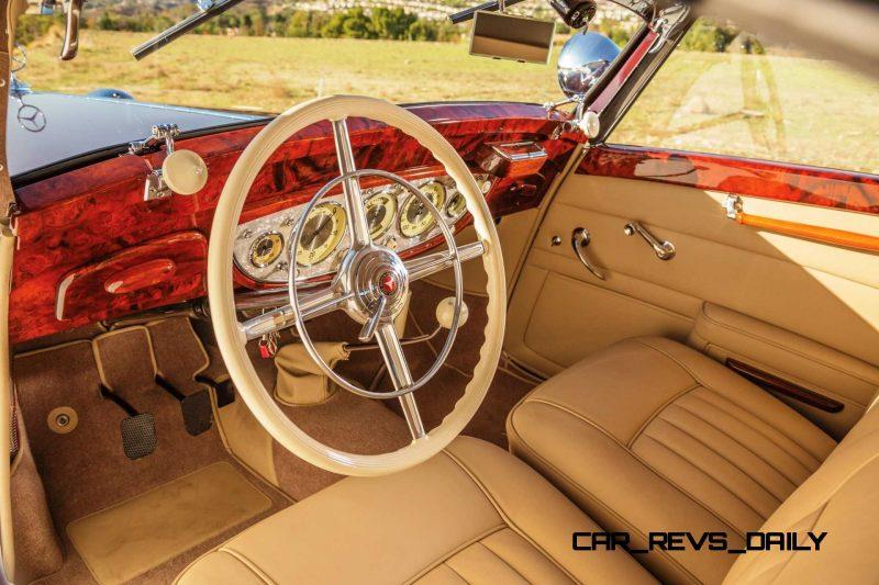 1937 Mercedes-Benz 540K Sport Cabriolet A by Sindelfingen 4