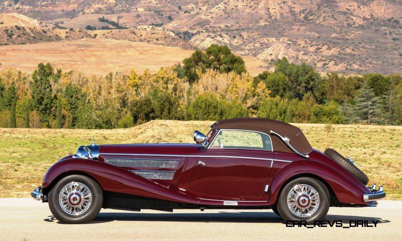 1937 Mercedes-Benz 540K Sport Cabriolet A by Sindelfingen 5