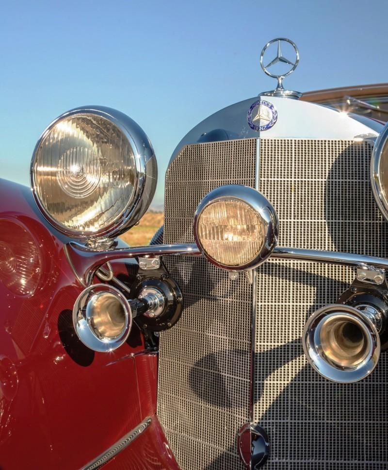 1937 Mercedes-Benz 540K Sport Cabriolet A by Sindelfingen 6