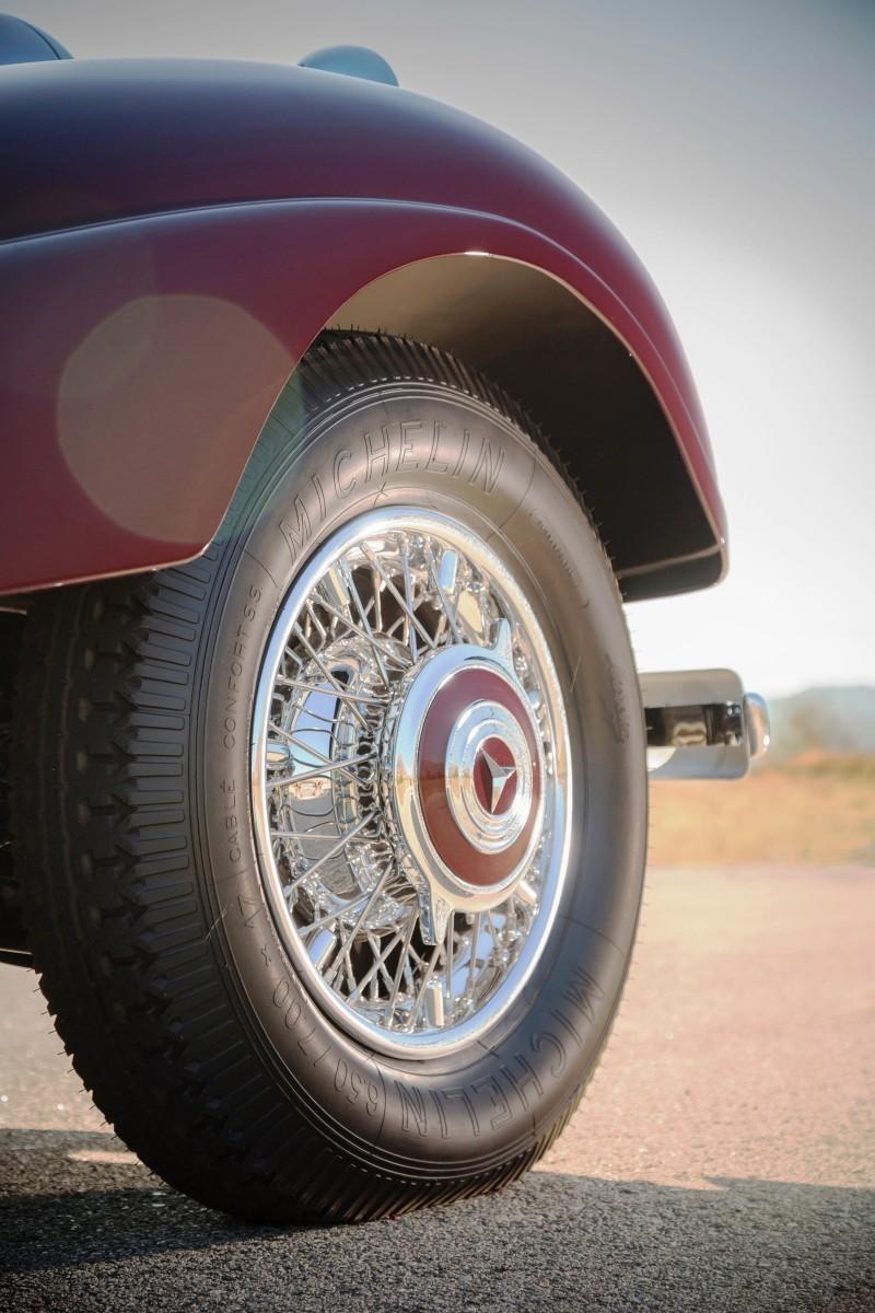 1937 Mercedes-Benz 540K Sport Cabriolet A by Sindelfingen 7