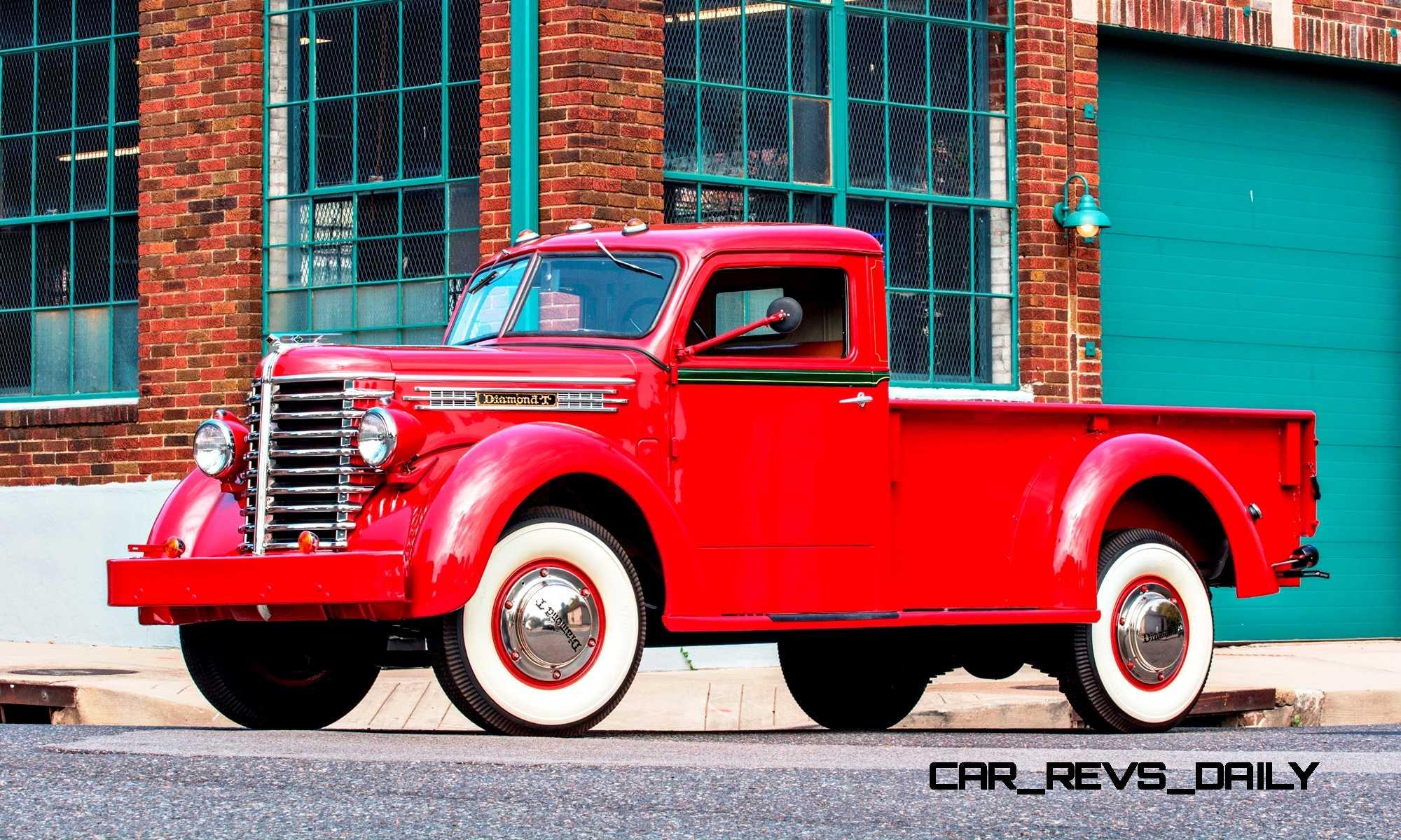 Ct Pick 3 >> 1948 Diamond T Model 201 Pickup