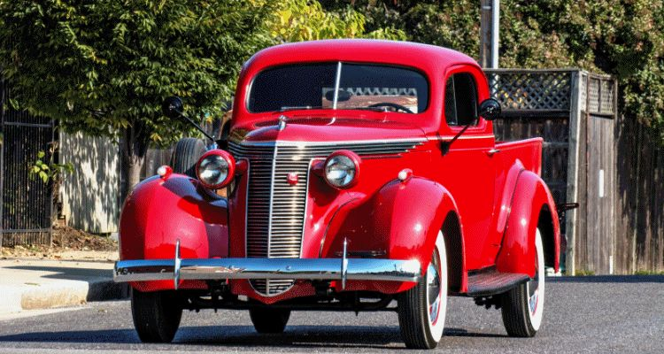 1938 studebker coupe pickup