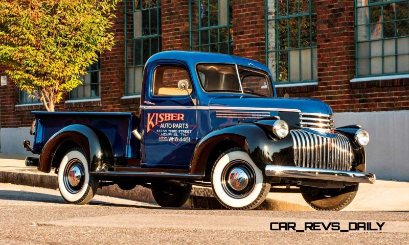 1941 Chevrolet AK Pickup 4
