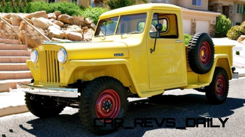 1948 Willys Jeep Pickup 1