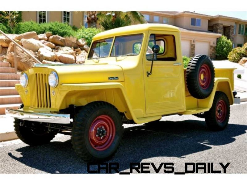 1948 Willys Jeep Pickup 11