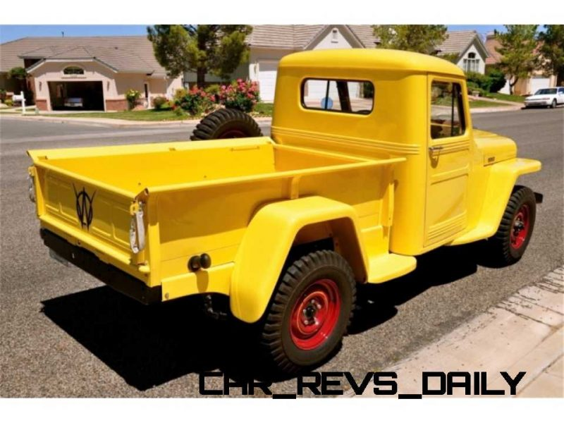 1948 Willys Jeep Pickup 12