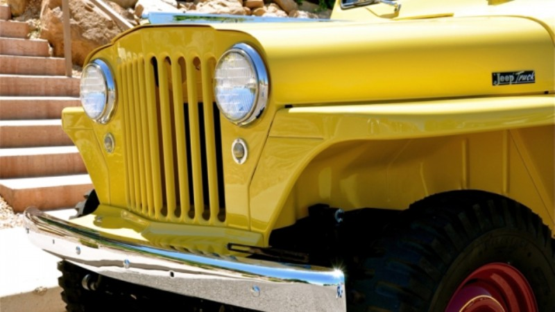 1948 Willys Jeep Pickup 7