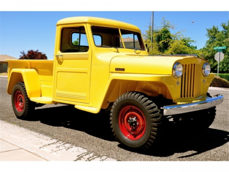 1948 Willys Jeep Pickup 8