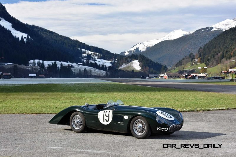 1952 Jaguar C-Type Le Mans Kettle Aerodynamic Recreation 1