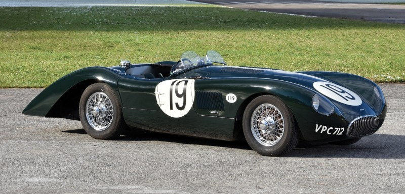 1952 Jaguar C-Type Le Mans Kettle Aerodynamic Recreation 1 - Copy