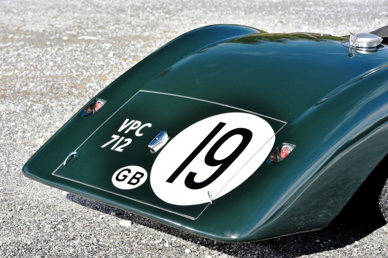1952 Jaguar C-Type Le Mans Kettle Aerodynamic Recreation 10