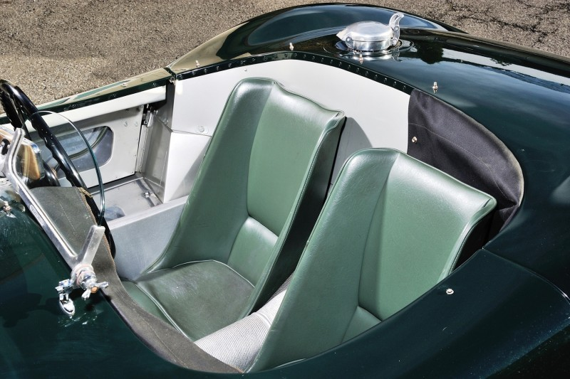 1952 Jaguar C-Type Le Mans Kettle Aerodynamic Recreation 14
