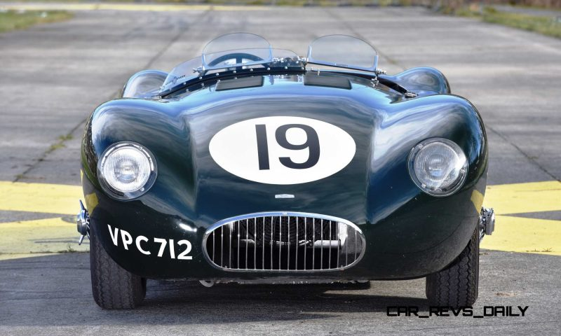1952 Jaguar C-Type Le Mans Kettle Aerodynamic Recreation 15
