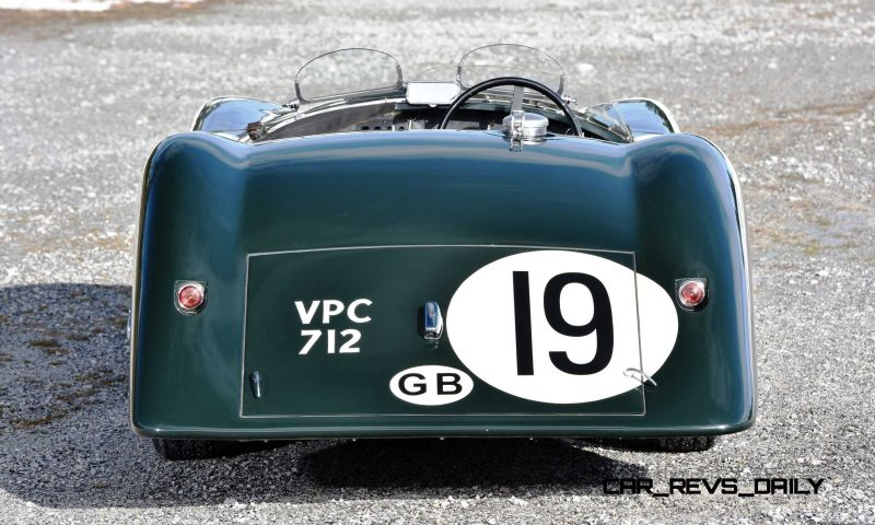 1952 Jaguar C-Type Le Mans Kettle Aerodynamic Recreation 16
