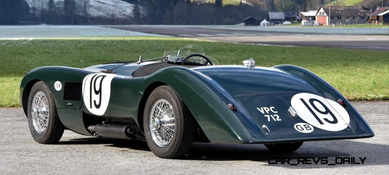 1952 Jaguar C-Type Le Mans Kettle Aerodynamic Recreation 2 - Copy