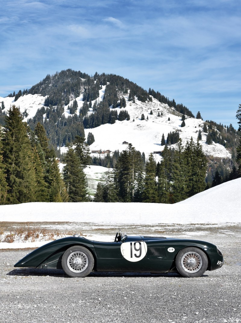 1952 Jaguar C-Type Le Mans Kettle Aerodynamic Recreation 5