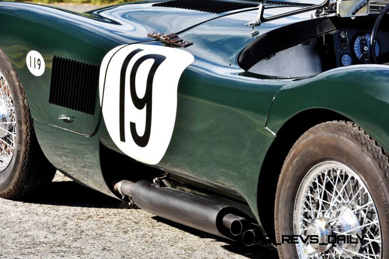 1952 Jaguar C-Type Le Mans Kettle Aerodynamic Recreation 8