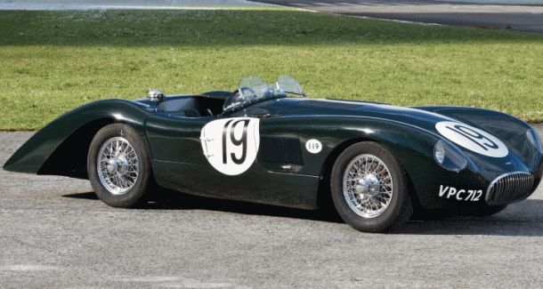 1952 Jaguar C-Type Le Mans Kettle Aerodynamic Recreation
