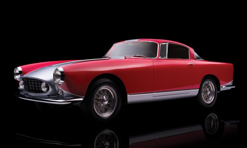 1955 Ferrari 250GTE Low-Roof Alloy Coupe 1