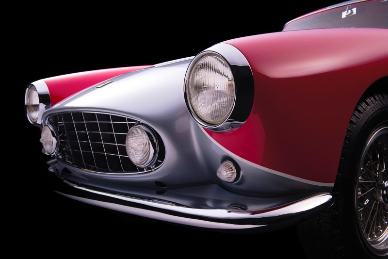 1955 Ferrari 250GTE Low-Roof Alloy Coupe 10