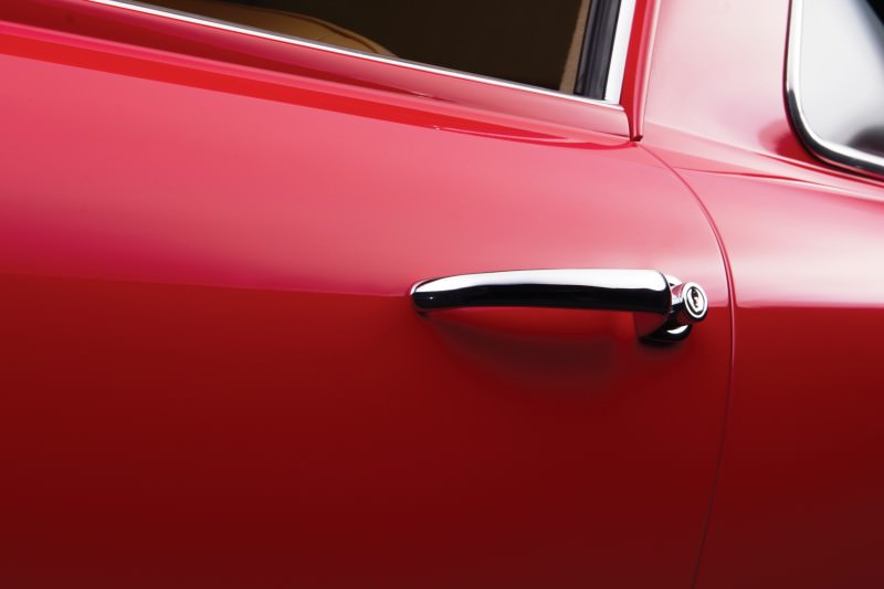 1955 Ferrari 250GTE Low-Roof Alloy Coupe 12