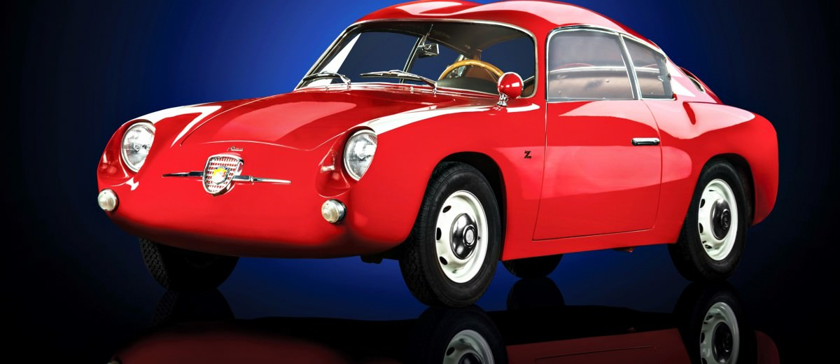 1958 Fiat-Abarth 750 GT 'Double Bubble' Coupé by Zagato 1