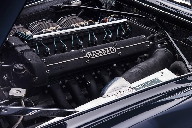 1961 Maserati 3500GT Vignale Spyder 22