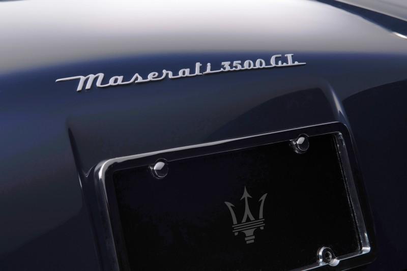 1961 Maserati 3500GT Vignale Spyder 7