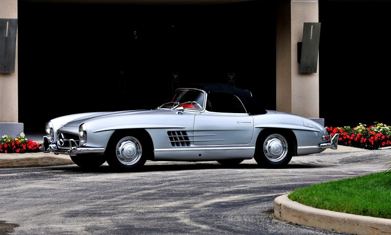 1963 Mercedes-Benz 300SL Roadster 11