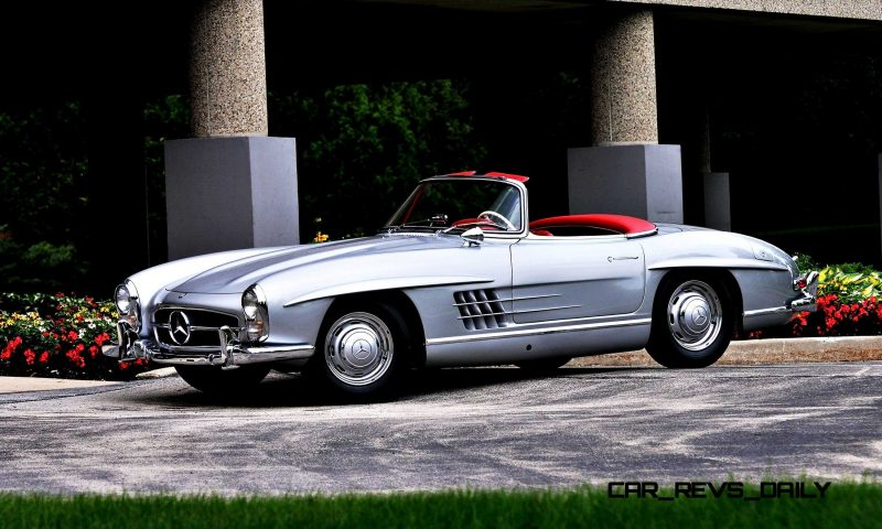 1963 Mercedes-Benz 300SL Roadster 12