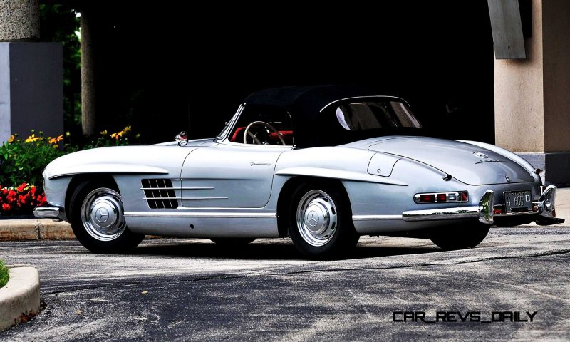 1963 Mercedes-Benz 300SL Roadster 14