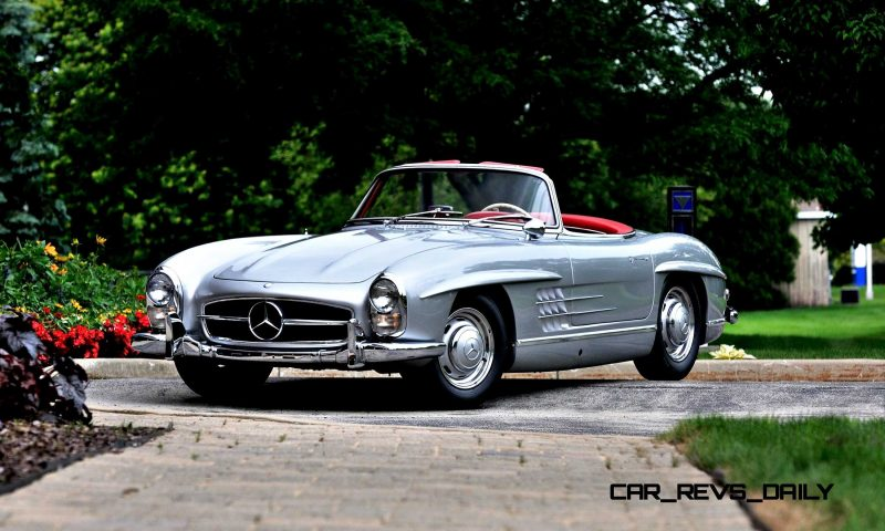 1963 Mercedes-Benz 300SL Roadster 20