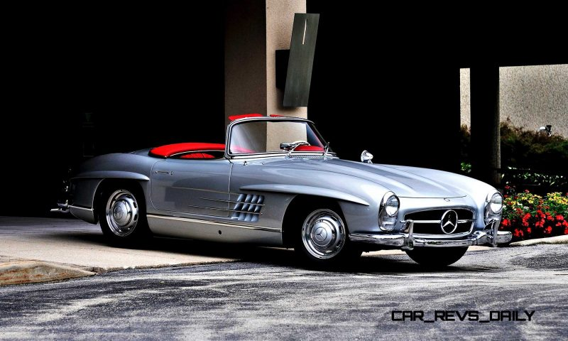 1963 Mercedes-Benz 300SL Roadster 22