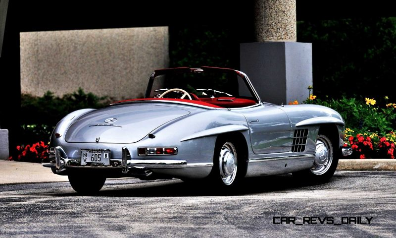 1963 Mercedes-Benz 300SL Roadster 23