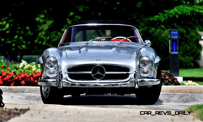 1963 Mercedes-Benz 300SL Roadster 38