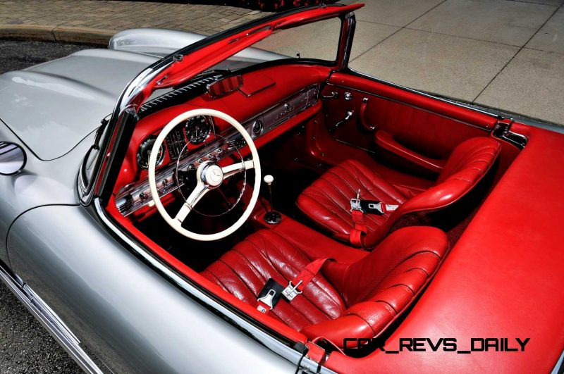 1963 Mercedes-Benz 300SL Roadster 4