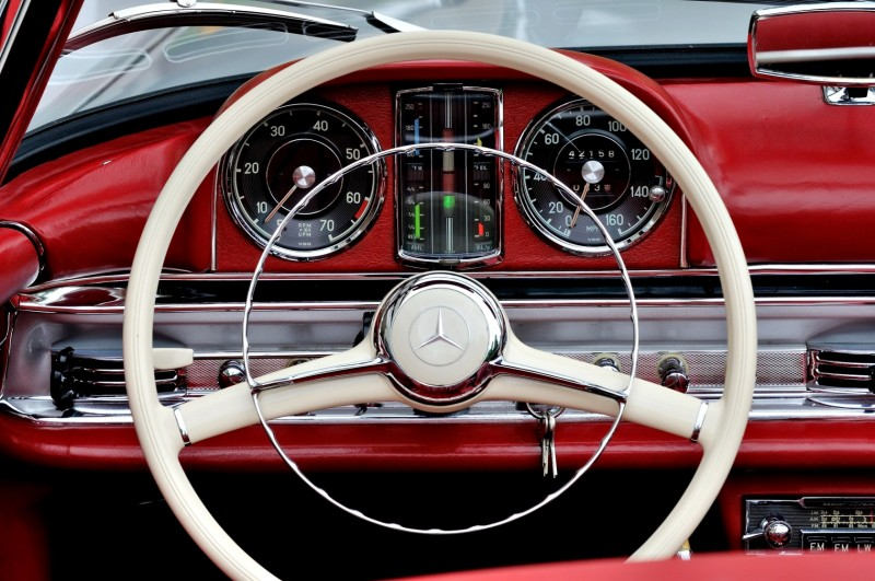 1963 Mercedes-Benz 300SL Roadster 52