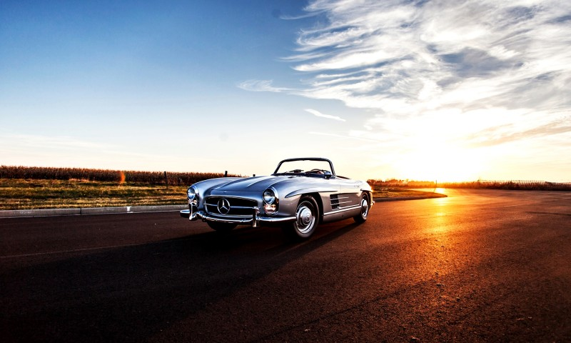 1963 Mercedes-Benz 300SL Roadster 61