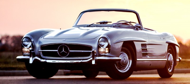 1963 Mercedes-Benz 300SL Roadster 70