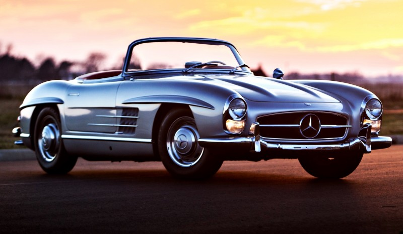 1963 Mercedes-Benz 300SL Roadster 80