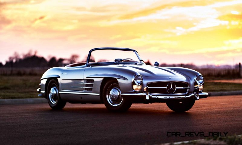 1963 Mercedes-Benz 300SL Roadster 81