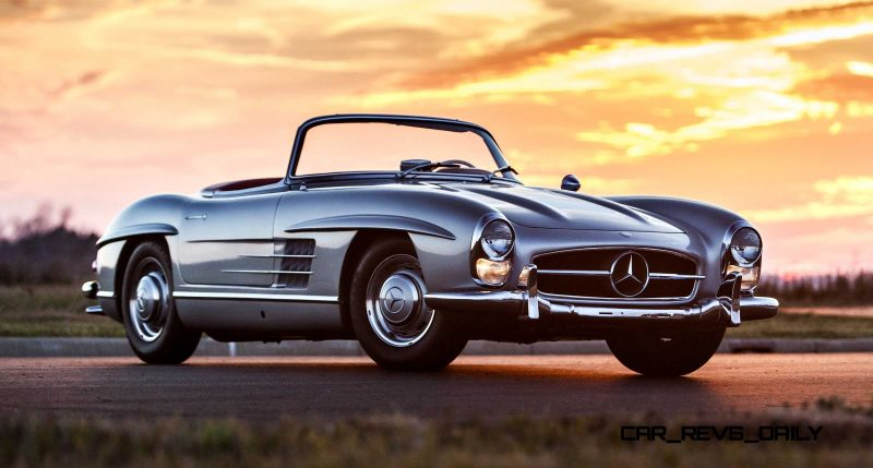 1963 Mercedes-Benz 300SL Roadster 82