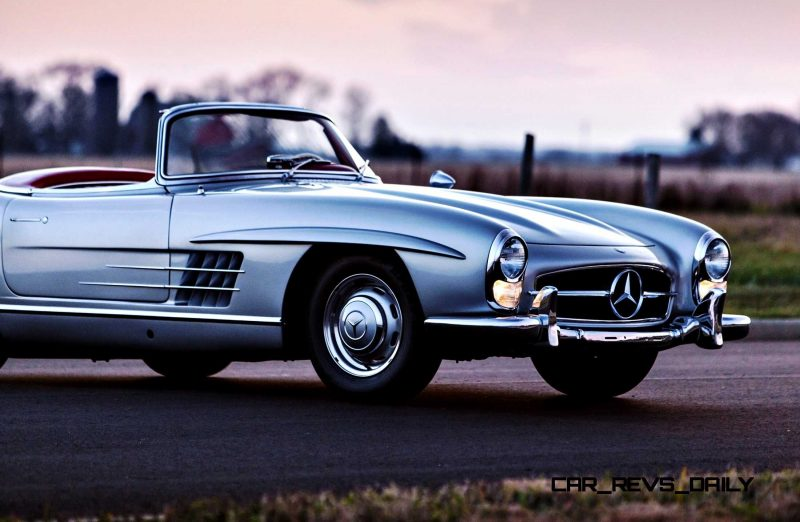 1963 Mercedes-Benz 300SL Roadster 91