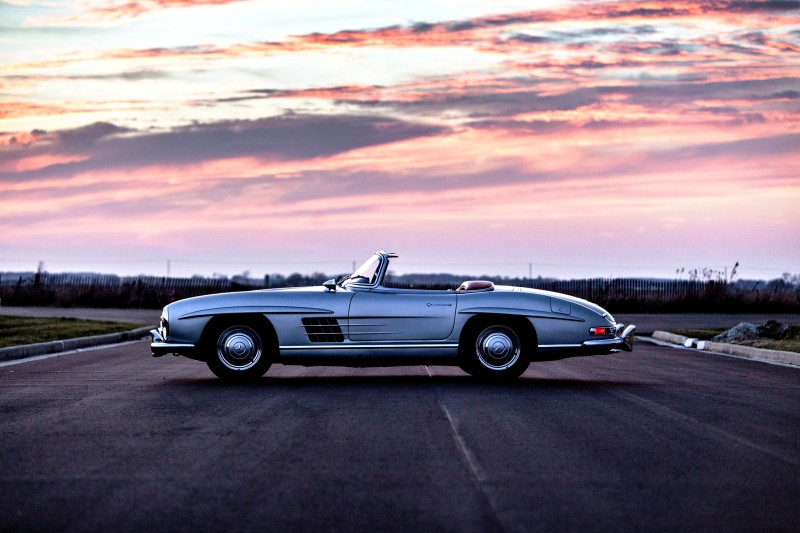 1963 Mercedes-Benz 300SL Roadster 94