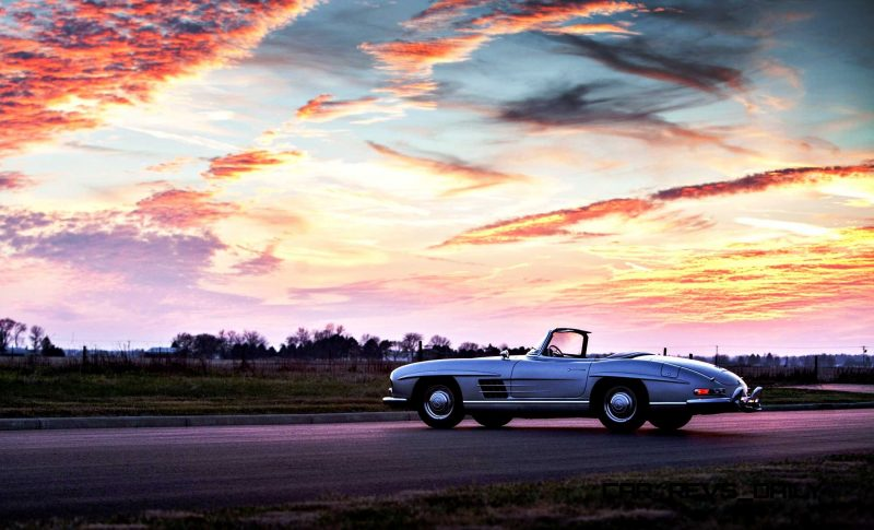 1963 Mercedes-Benz 300SL Roadster 96