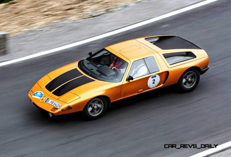 1969 Mercedes-Benz C111 and 1970 C111-II 12